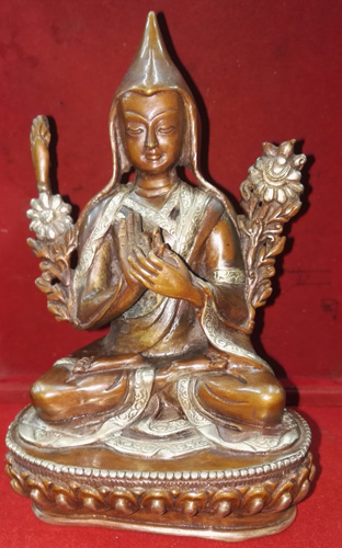 Medicine Buddha with hat