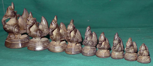 K6150-SB Set of 9 opium weights  Status : Inquire Click on picture for enlarge