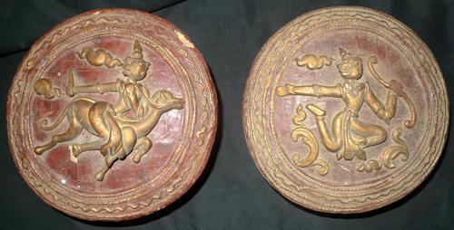 K6670-US Lacquerware, container, sold by one, have 2  Status : Inquire Click on picture for enlarge