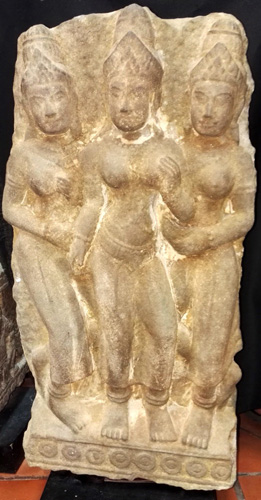 Trio of Khmer Apsara