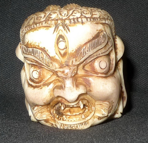 K8700-NX Mahakala head  Status : Available Click on picture for enlarge