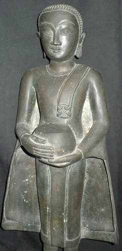 Buddha as a monk