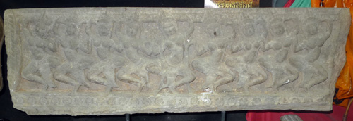 L0870-UC Khmer Amrita Mantana bas relief  Status : Available Click on picture for enlarge