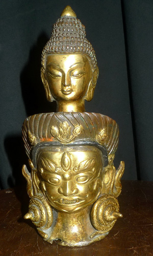Buddhist double head