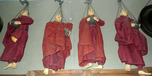 Monk marionette (sold by one)