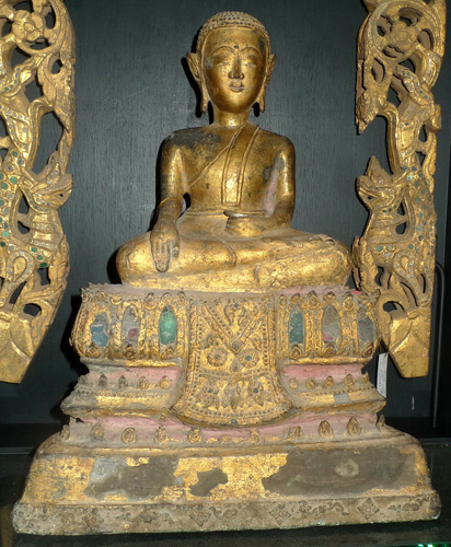 Ayutthaya Buddha as a monk