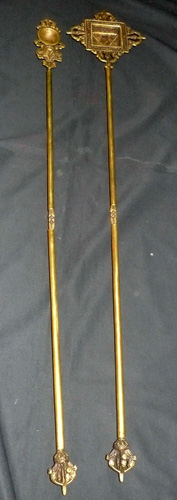 Pair of monk tools (spoon and mold)