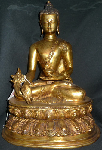 L2620-BT Medicine Buddha  Status : Available Click on picture for enlarge