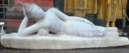 L2810-UE Reclining Ava Shan Buddha  Status : Available Click on picture for enlarge