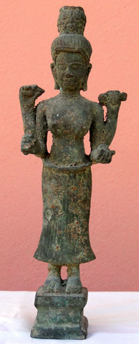 Four armed Khmer goddess