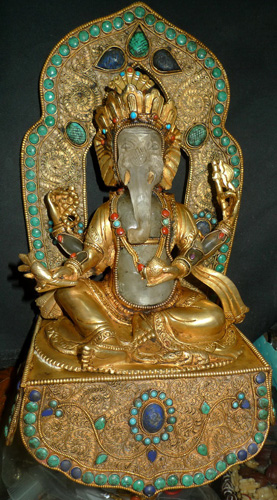 Ganesh on base