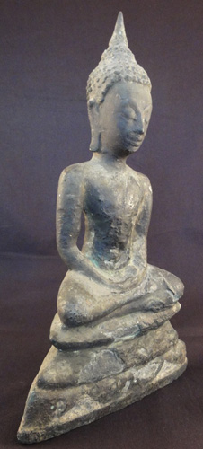 Ayutthaya Giant Amulet located in Europe