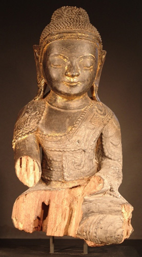 Shan Buddha baby face, located in Europe