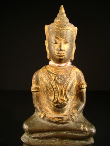 Early Ayutthaya Buddha giant amulet, located in Europe