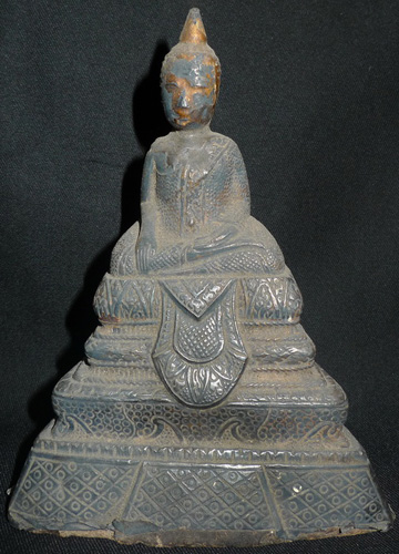 L5220-UI Ratanakosin silver Buddha  Status : Available Click on picture for enlarge