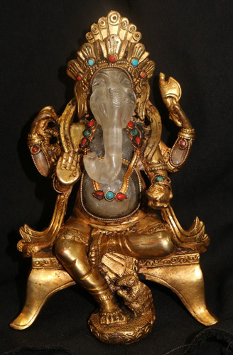 L6240-HA Sitting Ganesh  Status : Available Click on picture for enlarge