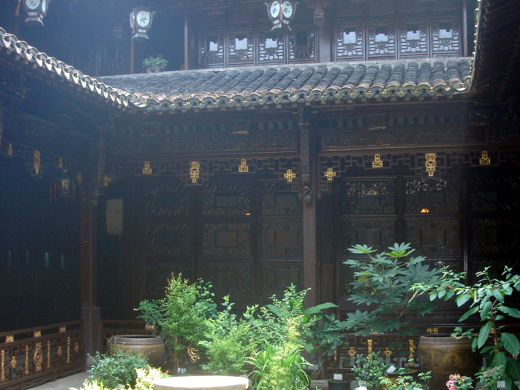 Tradional Chinese courtyard